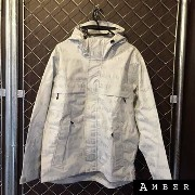 【OUTER SALE】2016FWSupreme シュプリーム3M Reflective Repeat Taped Seam Jacketリフレクティブ テープ シーム ジャケットWHITE...