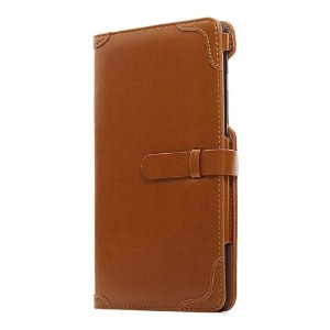 Bluevision ネクサス7ケース Impress for Nexus 7 (2013) Folio Case Camel Brown キャメル BV-IMP-N7-CBR