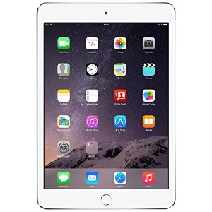 Apple iPad mini 3 MGP42LL/A (128GB, Wi-Fi, Silver) 2014 Model(US Version, Imported)