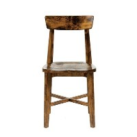 journal standard Furniture CHINON CHAIR WOOD SEAT