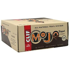 海外直送品Clif Mojo Dipped All Natural Trail Mix Bar SMores - 12 - 1.59 oz (45 g) bars [19.08 oz (540 g)]
