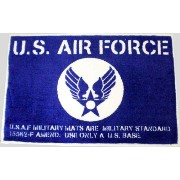 U.S.AIR FORCE★アメリカ空軍★フロアマット