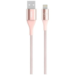 BELKIN iPad / iPad mini / iPhone対応 Lightning ⇔ USBケーブル 充電 2.4A (1.2m・ローズゴールド) MFi認証 F8J207bt04-C00