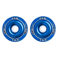 YAK SCAT High Performance Scooter Wheel (Aluminum Core/Slimline) キックボード用ウィール 110mm x 88a 前後Set ...