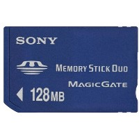 SONY MSH-M128A メモリースティックDuo 128MB