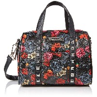 Loungefly Grey Skull with Roses Printed Duffle