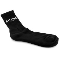 K1X Hardwood Game Time Socks 黒 XL