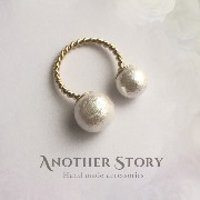 (アナザー・ストーリー) Another Story Twist Ring.(Pearl×Pearl)