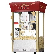 【並行輸入】Great Northern Popcorn Red Matinee Movie Theater Style 8 oz. Ounce Antique Popcorn Machine...