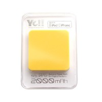 ENERGY POWER Battery SQUARE2(エナジーパワーバッテリー・スクエア2) ワンサイズ YELLOW