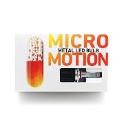 METAL LED BULB MICROMOTION HB4