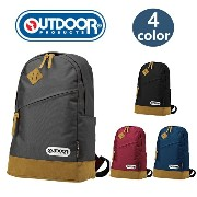 OUTDOOR PRODUCTS リュックサック デイパック リュックバッグ 通学リュック 丈夫 高校生 通学 通勤 旅行 バック カバン 鞄 人気 かわいい おしゃれ 軽量 ナイロン 男女兼用...