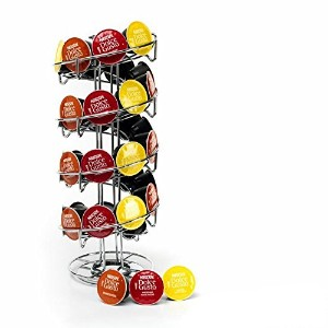 Kabalo Coffee Pod Capsule Revolving Rotating Spiral Stand Holder for Dolce Gusto