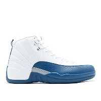 "(ナイキ) 【US 8 】 NIKE air jordan 12 retro ""french blue"" white/frnch bl-mtllc slvr-vrst エアジョーダン メンズ..."