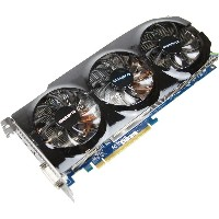 GIGABYTE グラフィックボード Radeon HD7950 3GB PCI-E GV-R795WF3-3GD