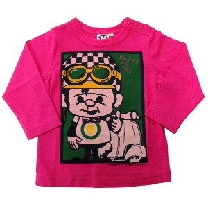 HOWDY DOODY'S グリボーTシャツ 95cm ピンク[51] 吊天竺 P21090-31
