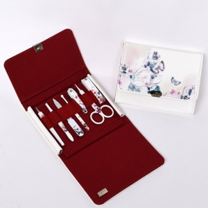 BELL Manicure Sets BM-270 ポータブル爪の管理セット 爪切りセット 高品質のネイルケアセット高級感のある東洋画のデザイン Portable Nail Clippers...