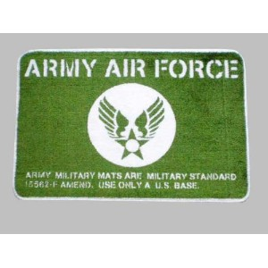 ARMY.AIR FORCE★アメリカ陸軍航空隊★フロアマット
