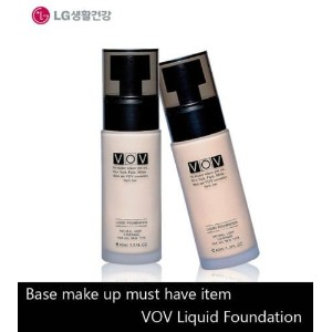 LG Cosmetics VOV Liquid Foundation 40ml/Make-Up Base/Korea Cosmetic (#21 Natural Beige) [並行輸入品]