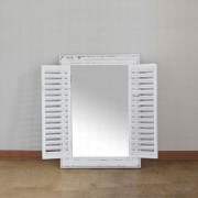 SPICE【SQM310WH】ANCIENT WINDOW FRAME MIRROR GOLD