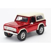 1973 Ford Bronco,red with white roof.[Jada Toys]《03月予約※暫定》
