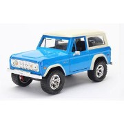1973 Ford Bronco,light blue with white roof[Jada Toys]《03月予約※暫定》