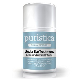 Puristica Under Eye Gel Treatment Cream for Puffy Eyes, Dark Circles, Bags and Wrinkles - Puristica...