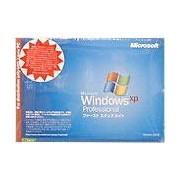 Microsoft Windows XP Professional SP3 (DSP版のDVD-ROM)