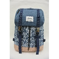 Keith Haring Backpack フラップトップ バッグパック(デニム)