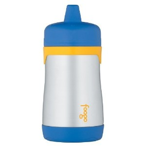 Thermos FOOGO Phases Stainless Steel Sippy Cup, Blue/Yellow, 10 Ounce by Thermos [並行輸入品]
