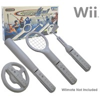 Wii専用スポーツゲームコントローラー プロフェッショナルスポーツキット 4 in 1
