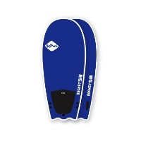 """SOFTECH SURFBOARDS ROCKET FUEL 56"""" L/BLUE HAND SHAPED SOFTBOARD ソフテック サーフボード ソフトボード"""