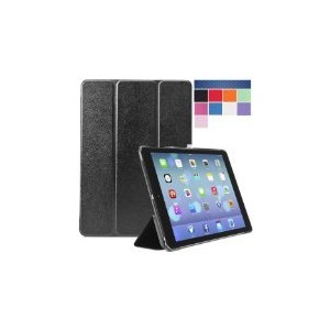 アップル Apple iPad Air Case 第5世代(5th Generation) i-Folio スマートカバー Smart Cover Smart Case Black【並行輸入品】