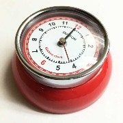 [DULTON]ダルトン KITCHEN CLOCK RED 100-193RD