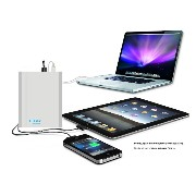 Lizone® Extra Pro プロスーパー容量40000mAh ポータブル外付け バッテリー 充電器 パワーバンク Apple MacBook Air / MacBook Pro /...