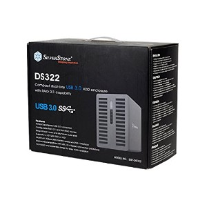 SilverStone SST-DS322 【外付けHDDケース】