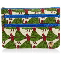spia 3ファスナーポーチ 3-Zip Pouch HULA DANCE FSP-0211H [正規代理店品]