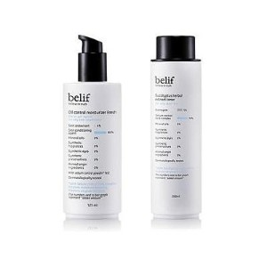 KOREAN COSMETICS, LG Household & Health Care_ belif, Set for oily skin type (Eucalyptus Herbal...