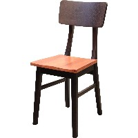 journal standard Furniture DOVER CHAIR WOOD BROWN