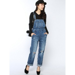 BROWNY STANDARD 【WEGO】【BROWNY STANDARD】(L)Wide Overall ウィゴー【送料無料】