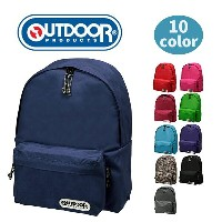 OUTDOOR PRODUCTS リュック リュックサック デイパック リュックバッグ 通学リュック 丈夫 18L 高校生 通学 通勤 旅行 バック カバン 鞄 人気 かわいい おしゃれ 軽量...