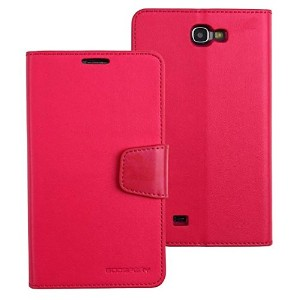 【No.904-3】【液晶保護フィルム付】【正規品】samsung docomo Galaxy NoteⅡ(SC-02E)note2 対応 ケース MERCURY GOOSPERY LEATHER...