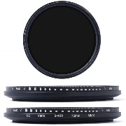 【XCSOURCE】72mm 減光フィルター 可変式NDフィルター (ND2 ND4 ND16 ~ND400) CANON NIKON PENTAX用 LF027