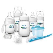 Philips AVENT フィリップス アヴェント Classic Plus 乳幼児スターター ギフトセット (クリア) [並行輸入品]