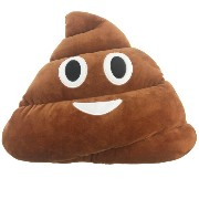 Zhhlinyuan 良質 可愛い Emoticon Poo Shaped Warm hands Pillows Cushion Stuffed Toy Home Decor