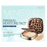 Hope Girl Mineral Moisture Pact, Made in Korea, Korean Cosmetics (#21 Light Beige)