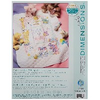 "Baby Hugs Cute...Or What? Quilt Stamped Cross Stitch Kit-34""X43"" (並行輸入品)"