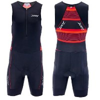 ZOOT(ズート) Men's Performance Tri Racesuit メンズトライスーツ RACE DAY RED STRIPE