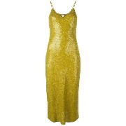 Diane Von Furstenberg sequinned fitted dress