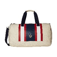 Tommy Hilfiger TH Stripes - Painted Canvas Large Duffel(平行輸入品)